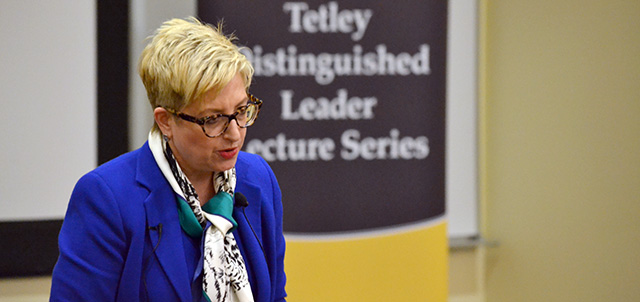 Tetley Distinguished Leader Lecture Series