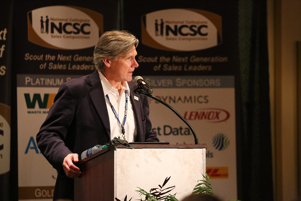 Dr. Terry Loe, Co-Director of the Center for Professional Selling