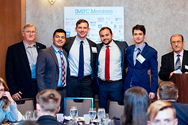 KSU SMIF Students at SMIC Consortium Conference in Chicago