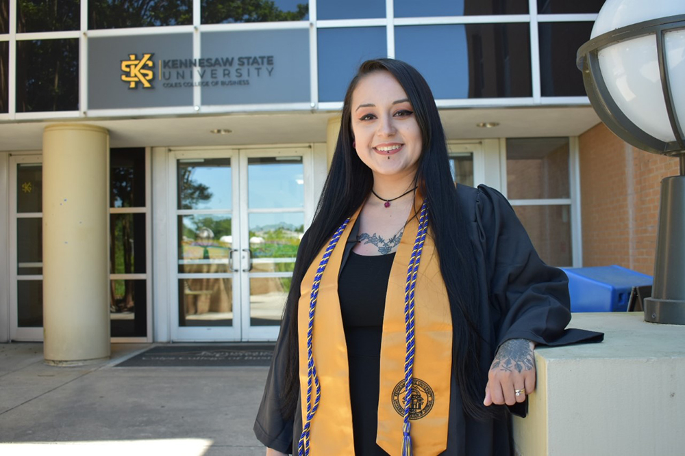 Kennesaw State University Information Systems Graduate Kianni James