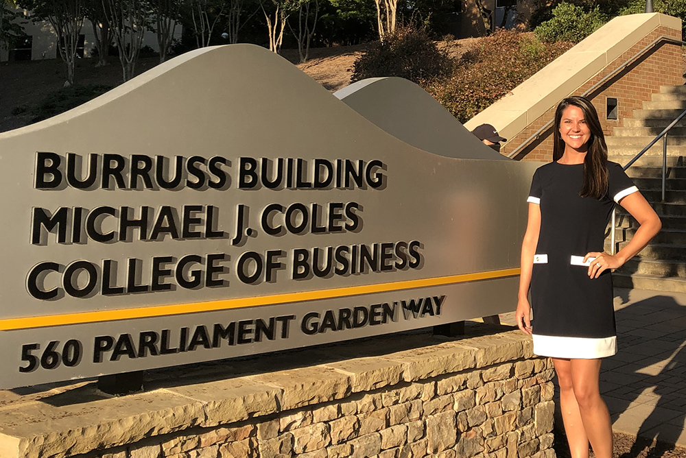 Accounting Grad Megan Beeston Panella Returns to Kennesaw State University to Mentor Students