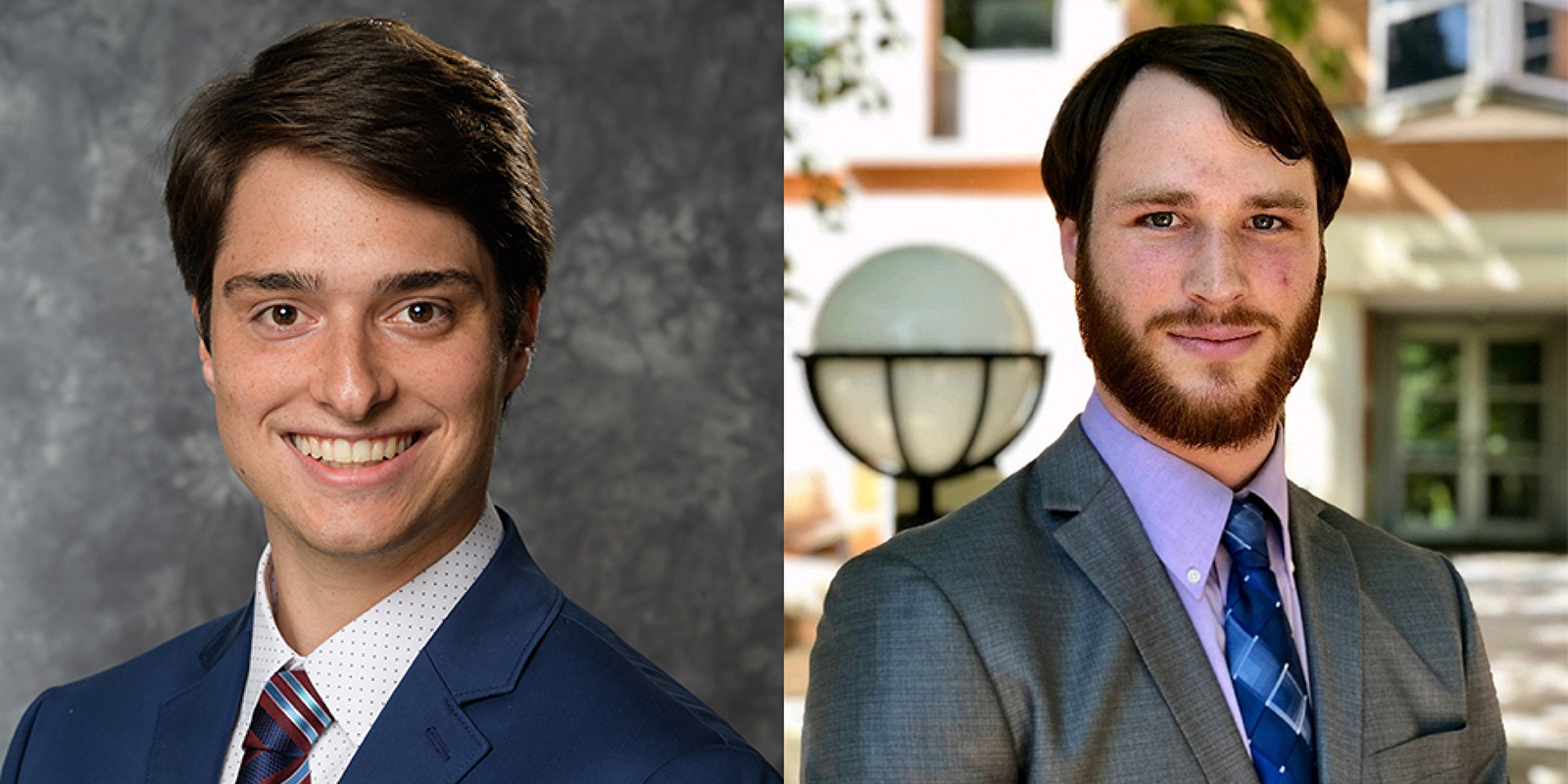 Kennesaw State Finance Graduates Nicholas Busson and Vinny Rosamilia