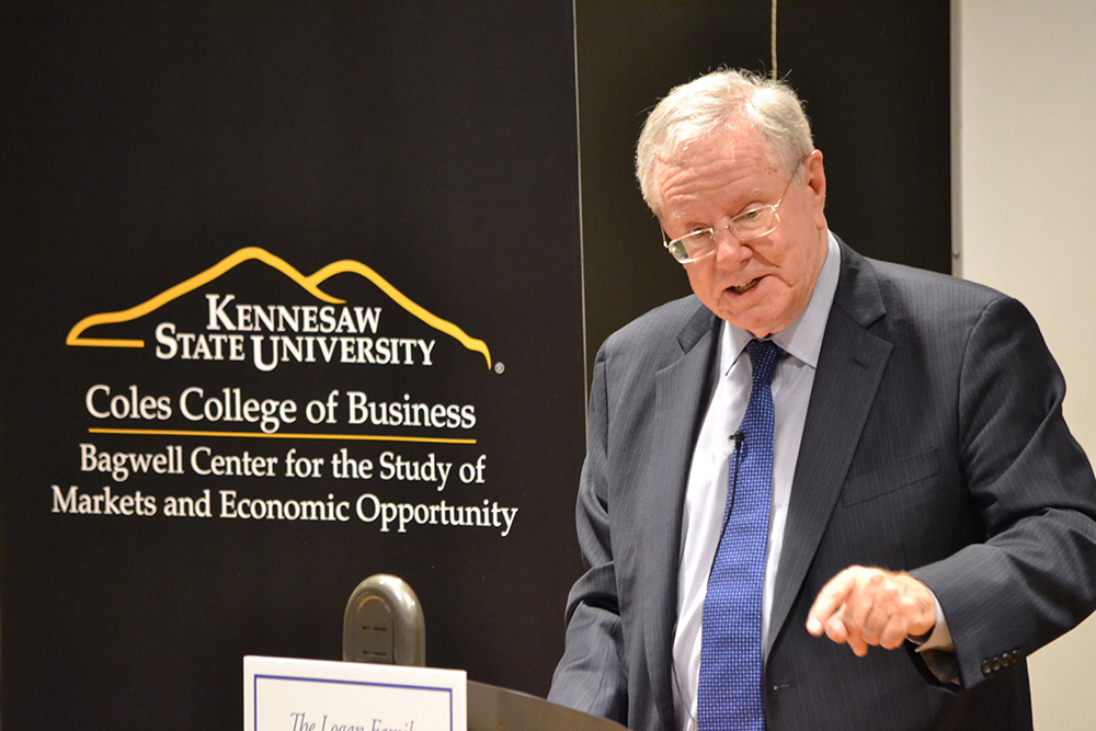Steve Forbes at Kennesaw State