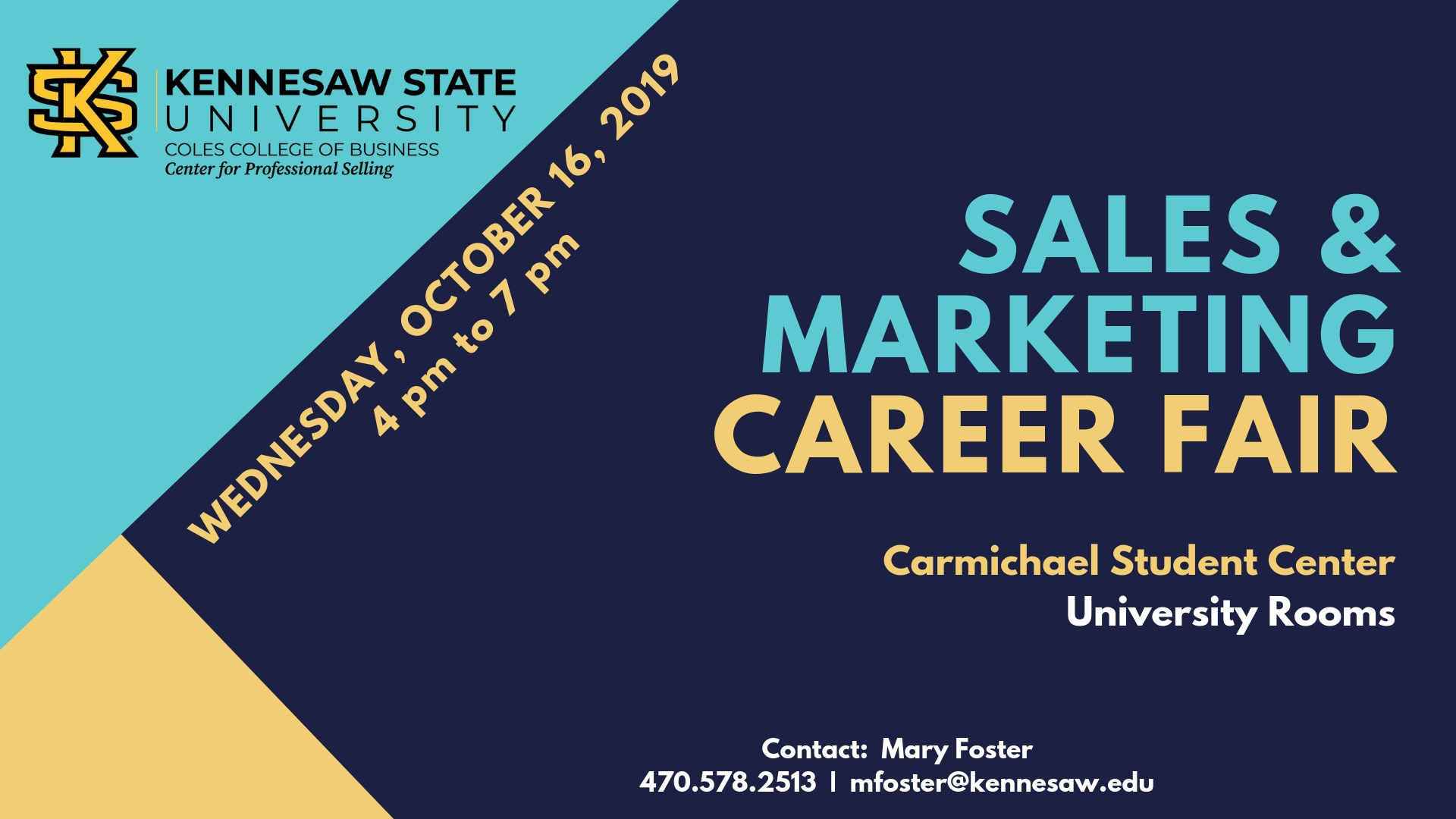 Sales and Marketing Career Fair